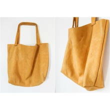 Golden canvas handbag of superior quality