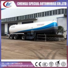 Tanque de GLP de 3 ejes y semi remolque para el transporte de LPG, rellenado del tanque de GLP