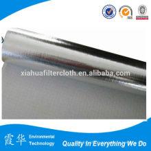 Tissu en fibre de verre en aluminium à membrane revêtue