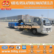 4X2 FOTON FORLAND brand roll-off garbage truck 4.5m3 98hp new style high quality factory price