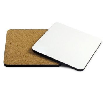 Custom Make Sublimation 3mm Cork Wood Coasters