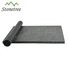 Poliertes schwarzes Küchen-rechteckiges Schneidebrett aus Granit