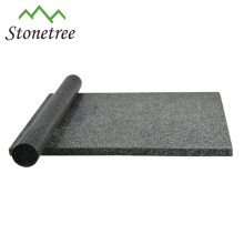 Planche à découper en granit noir avec rouleau à pâtisserie