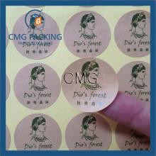 Self Adhesive Craft Paper Sticker Coloured PVC Label