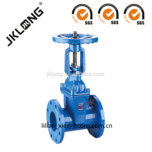 ductile iron gate valve rising stem rubber seated gate valve