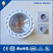 Creativo similar COB Chip Gu5.3 5W blanco cálido LED Spotlight