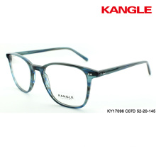 acetate optical frames stripe eyeglass frame china eyewear