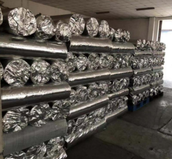 Double-sided Aluminium Foil Coated Fabric Coated