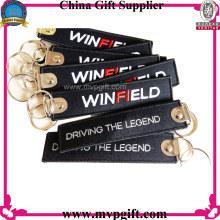 Porte-clés à cordon personnalisé avec logo broderie