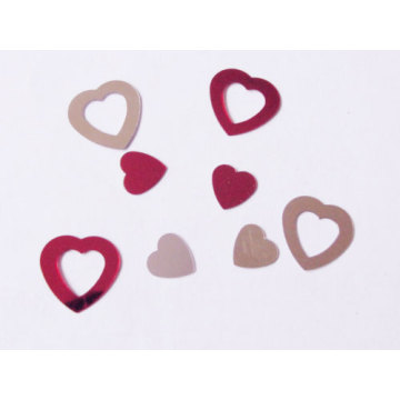 Liebe Herz Glitter Konfetti