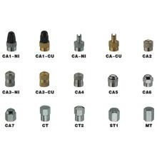 Tapas de válvulas de neumáticos de cobre