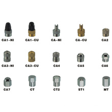 Copper Tire Valves Caps