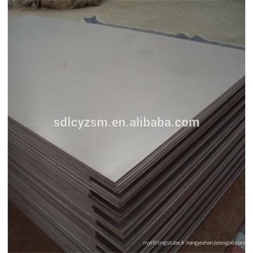 construction des matières premières 4x8 tôle d'acier