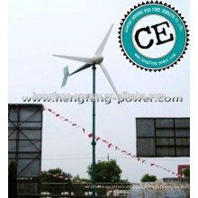 Serie guía 200W-100KW generador de turbina de viento precio, generador eléctrico