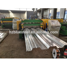 Quality Galvanised Steel Sheet Floor Deck Roll Forming Machine With Good Price , Metal Floor Support Plate Machine For Sale
