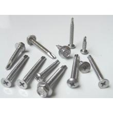Self drilling Hex head tapping screws