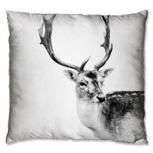 Cute sika deer design cushion
