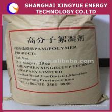 Indústria química Fornecimento de grânulos de poliacrilamida para tratamento de águas residuais de fábrica de óleo