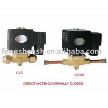 solenoid valves pistons