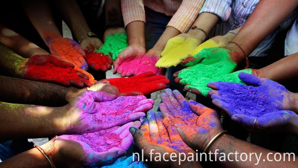 happy holi colors