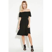 OEM off-The-Shoulder MIDI Lady Dress