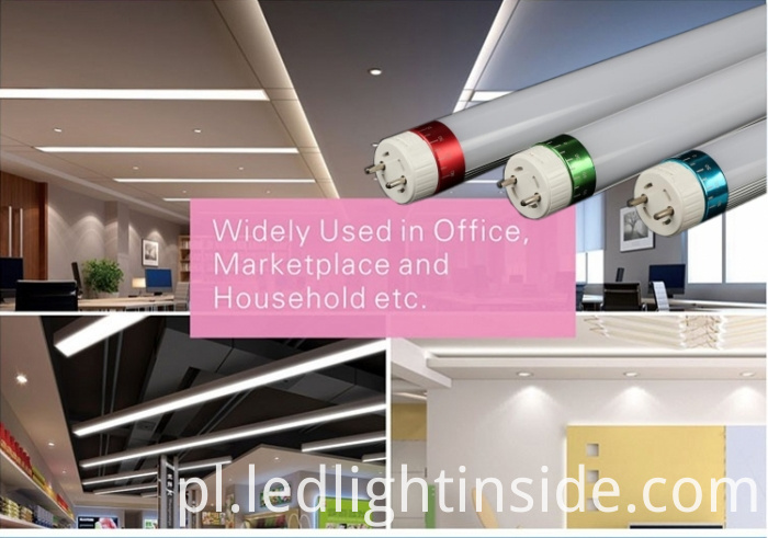 24w high lumen led tube light T8_