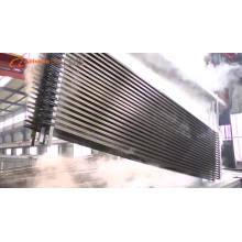 Sections en aluminium extrudé blanc pour cloison de bureau