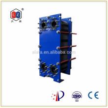 fabrication d'échangeur de chaleur à plaques, échangeur de chaleur pour moteur marin