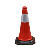 50cm orange PE plastic traffic cones