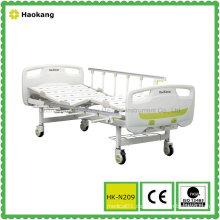 HK-N209 Zwei Funktionshandbuch Krankenhausbett (Medizintechnik, Krankenhausmöbel)