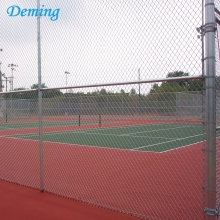 Hot Dip Galvanized Chain Link Fence Sports Field
