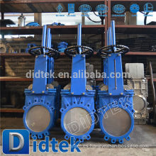 Válvula de compuerta neumática Didtek Fabricante