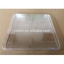250 mm * 250 mm quadratische Petrischale / Kulturplatte sterilisieren