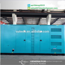100% new store 800Kva silent diesel generator sets, powered by Cummins engine KTA38-G2