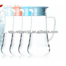 Hohe Qualität Große Kapazität Geschenk Großhandel Borosilikatglas Wasserfilter Krug Mit Deckel