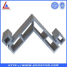 Suporte de canto de alumínio anodizado e montagem de alumínio