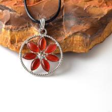 Драгоценный камень Исцеление Йога Цветочная чакра Подвески оптом