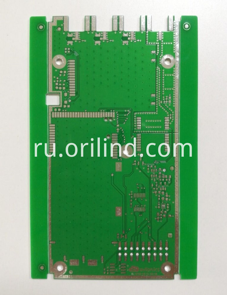 Tin finger circuit board