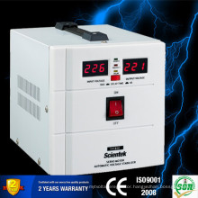 Servo Motor Copper Toroidal Transformer Led display 500u 300w Voltage Regulator