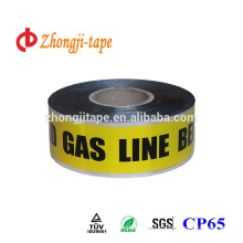Underground Buried Gas Line Marking Detectable Tape