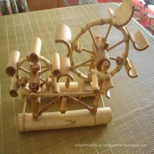 Artesanato de bambu / Móveis De Bambu Criativo / Lembrança De Bambu