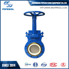 20 Years Factory for F4/F5 Gate Valve Flange Type Knife Gate Valve supply to Botswana Factories