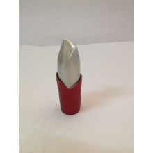 Torch Shaped Red Lipstick Bottle