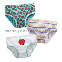 Custom Soft Breathable Cotton Cute Kids Children Underwear