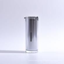 15ml L New Deco Cylinder Airless Pump Bottle
