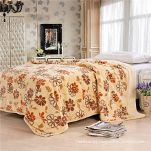 Coral Fleece Printed Thick Blanket Sq-Bf011