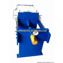 Prensa de filtro hidráulica manual de la placa y del marco del tamaño pequeño, prensa del filtro del marco de la placa de la prensa del filtro de Leo