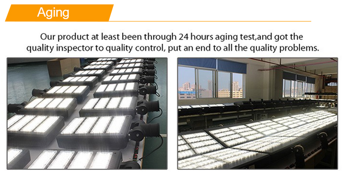 300W Led Street Light Aging Test