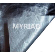 Tissu en fibre de verre en aluminium et en aluminium, matériau de toiture réfléchissant et argenté Laminage en aluminium feuilleté