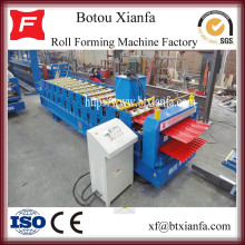 Trapesium Aluminium Double Layer Roll Forming Machine